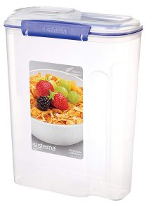 Klip-It Cereal Containers