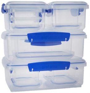 Klip-It Rectangular Containers