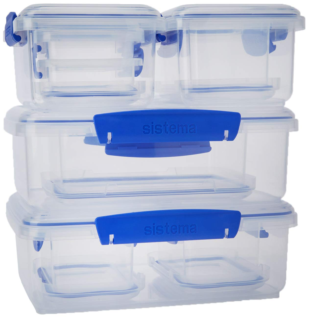 Klip-It Rectangular Containers