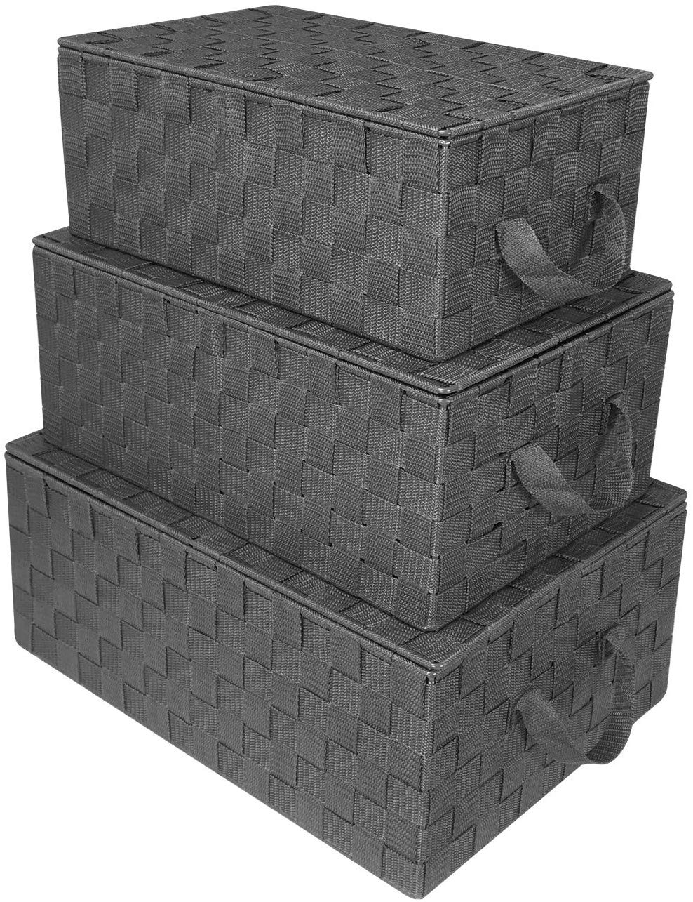 Large Cascade Gray 17'' L x 12'' W x 7'' H Box
