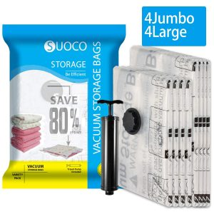 Large Vacuum Bags - Set of 3