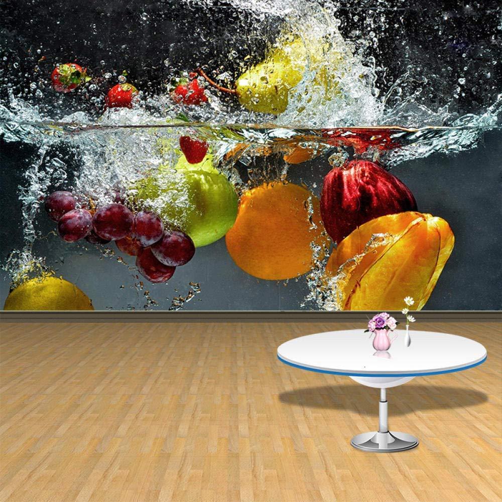 Large fruits kitchen wallpaper