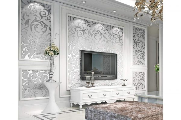 8 Living Room Wallpapers To Make Your House Flamboyant