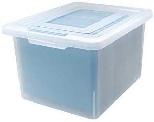 Medium Frosted Organizer Box,18.08