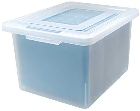 Medium Frosted Organizer Box,18.08