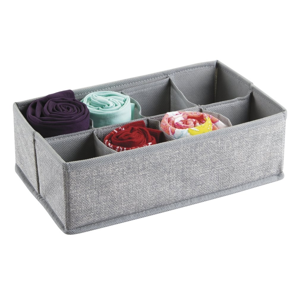 Medium Gray Aldo Drawer Organizers 8S - Set of 2