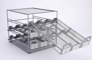Mesh 3-Tier Tilt Spice Organizing Unit