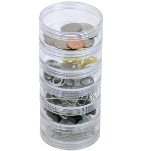 Multi-Compartment Round Containers