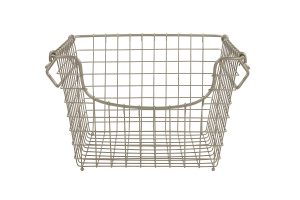 Nickel Wire Scoop Baskets