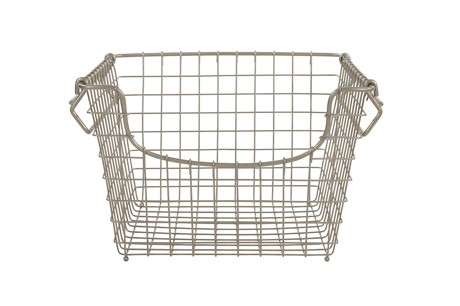 14 Deep Wire Shelf Basket (& 3 Dividers)