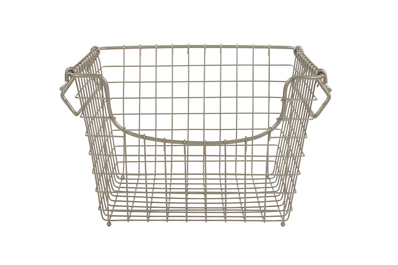 14 Deep Wire Shelf Basket (& 3 Dividers)