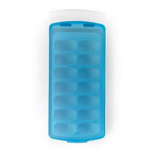 No Spill Ice Cube Tray with Lid