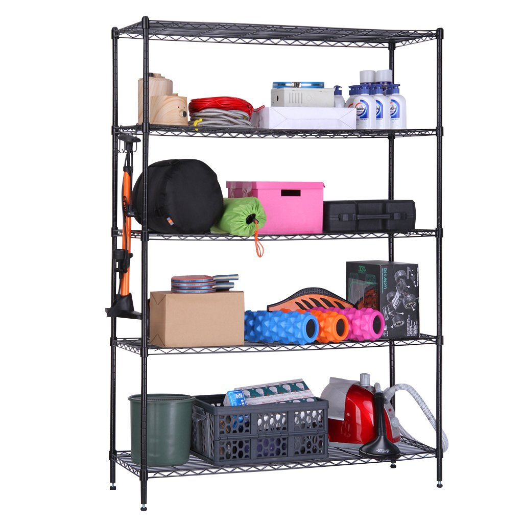 10 White Wire Shelving