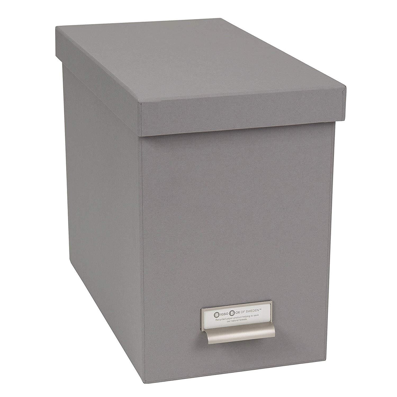 Poppin Medium Dark Gray File Box