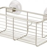 Silver Power Lock Max Suction Basket