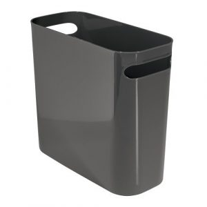 Slate Una Rectangular Waste Can
