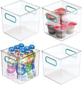 Small 6 Inch x 6 Inch Storage Bin