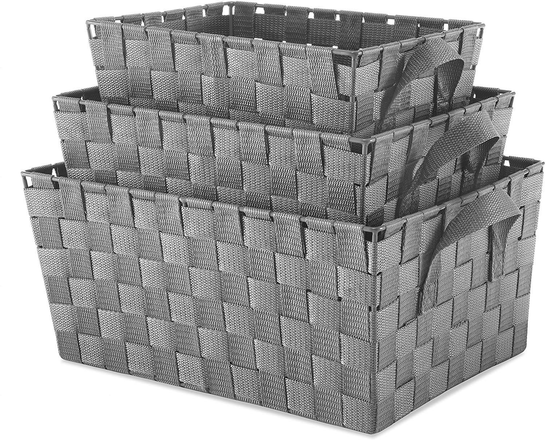 Small Cascade Khaki 11 Inch x 13.75 Inch Rectangular Crate
