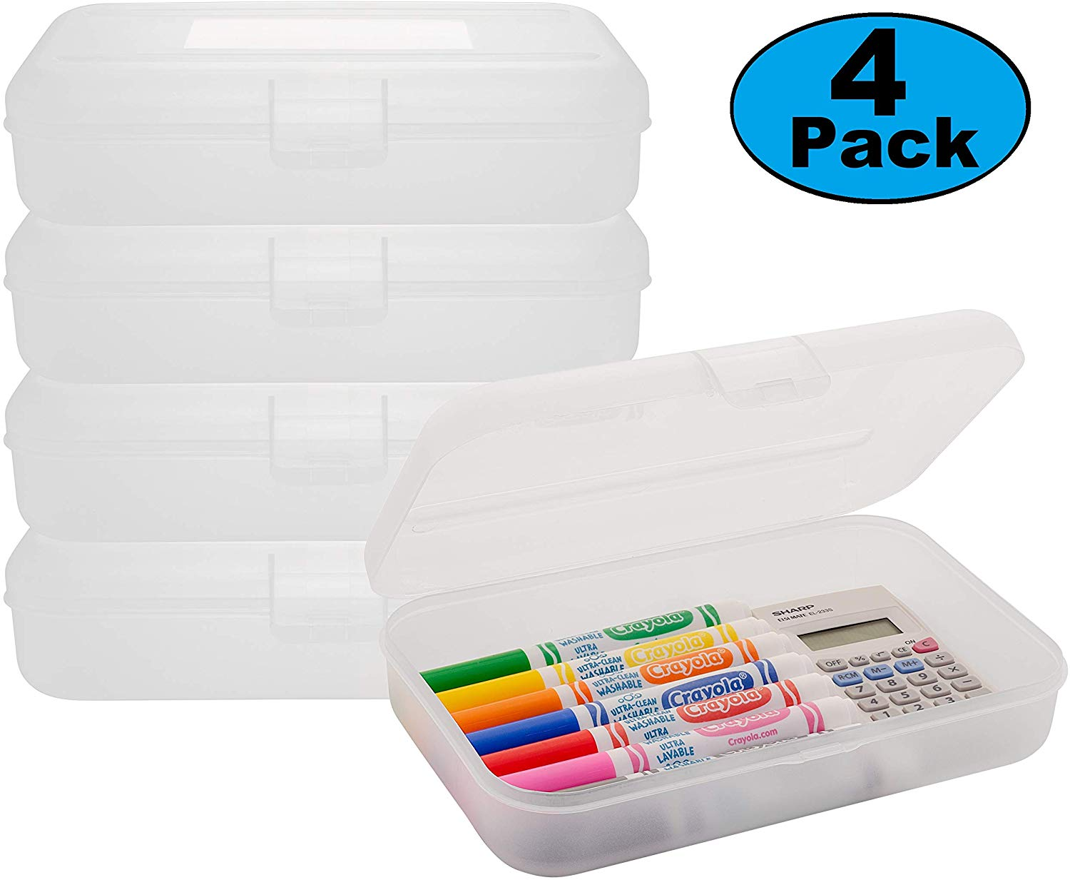 Small Frosted Organizer Box