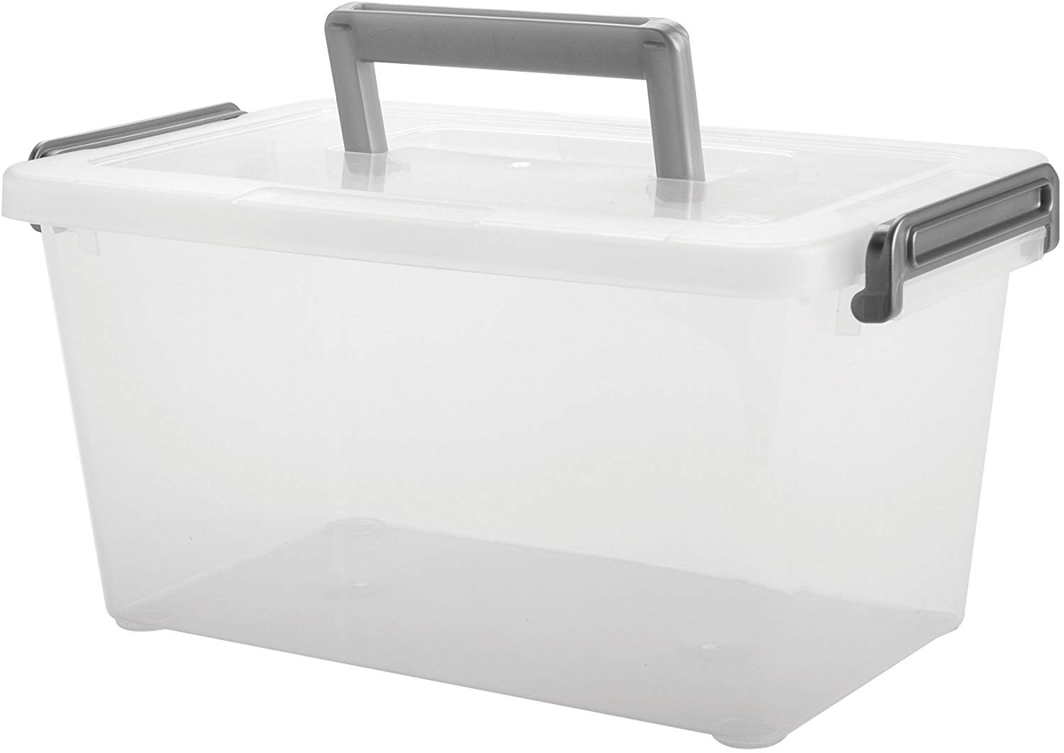 Small Stackable Latch Box, 6.5 Inch x 4.5 Inch
