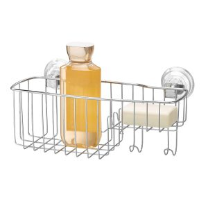 Stainless Steel Power Lock Suction Baskets