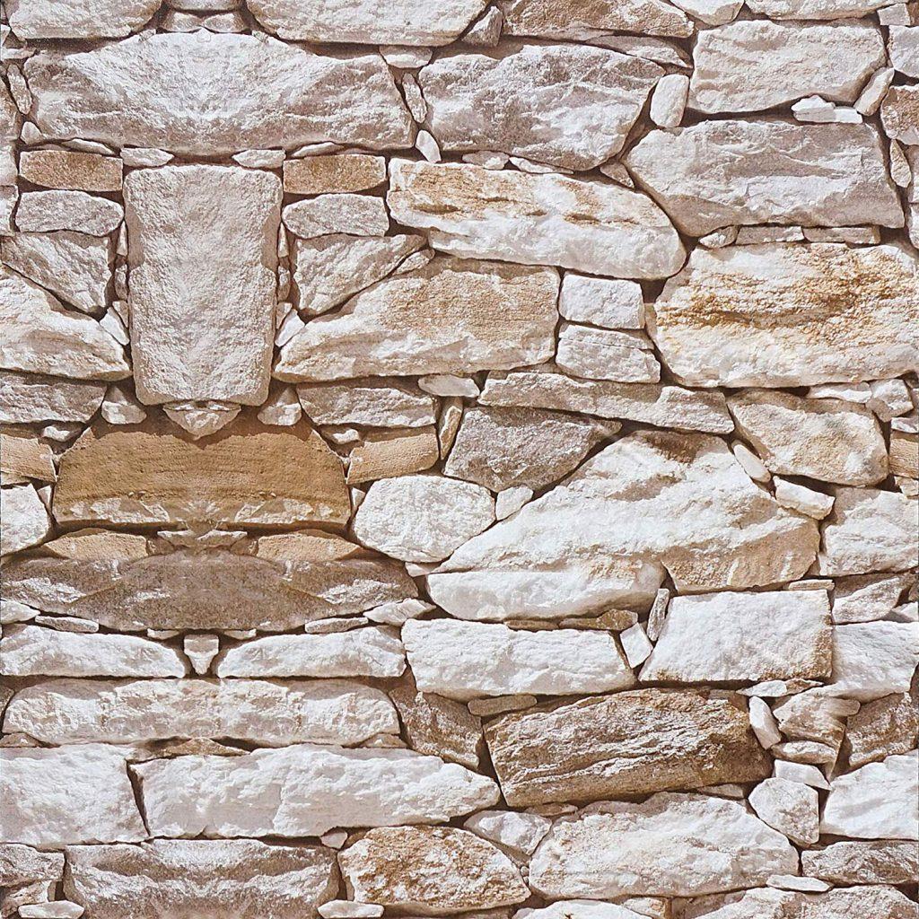 Stone textured wallpaper