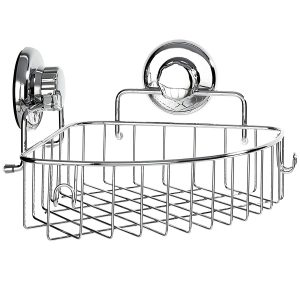 Corner Shower Caddy with Suction Cup