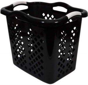Tall Black Laundry Basket