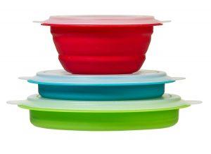 Thin Store Storage Bowl Set - S/3