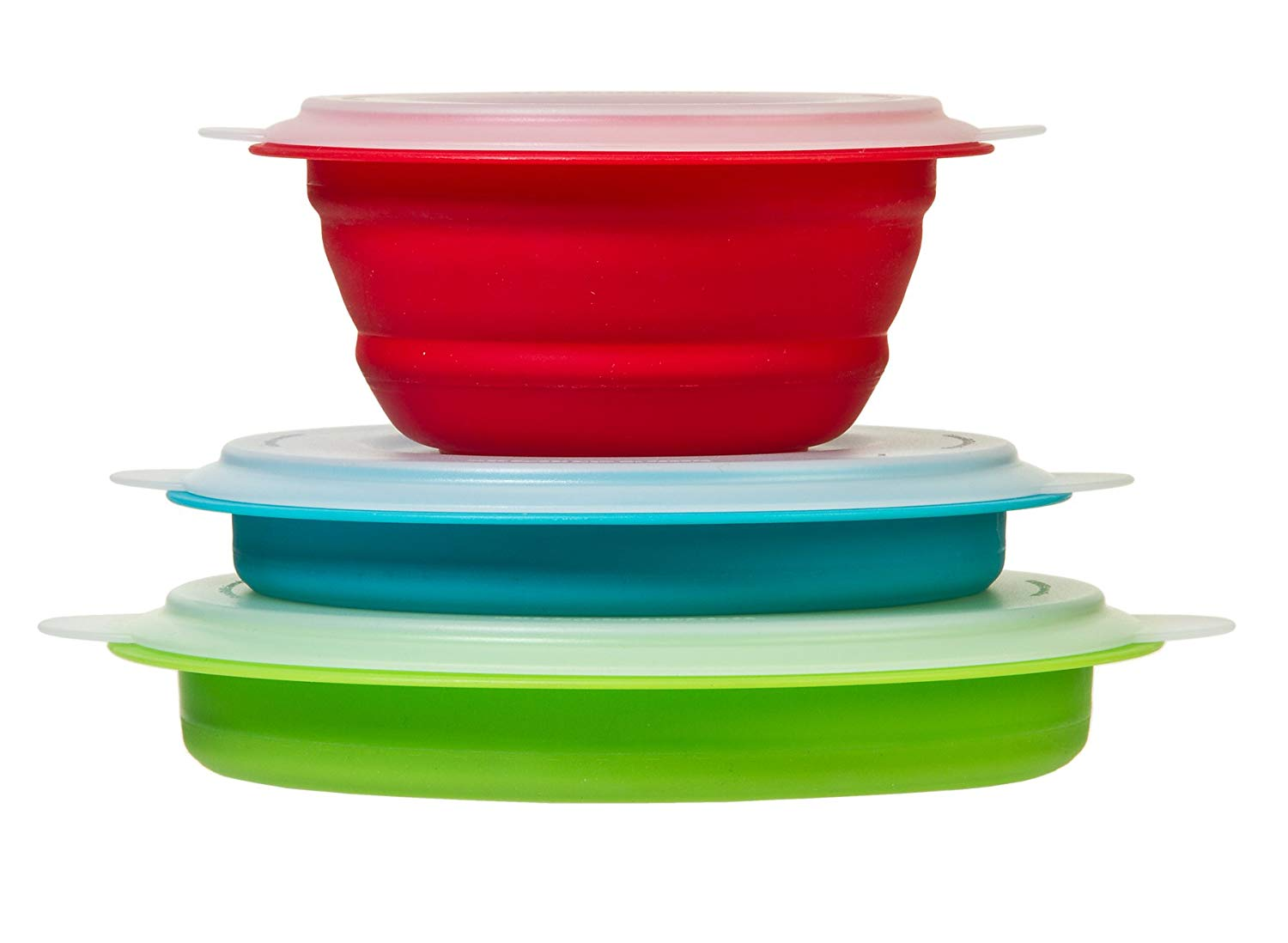 Thin Store Storage Bowl Set - S/3