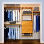 Walk-In Closet: Honey Maple