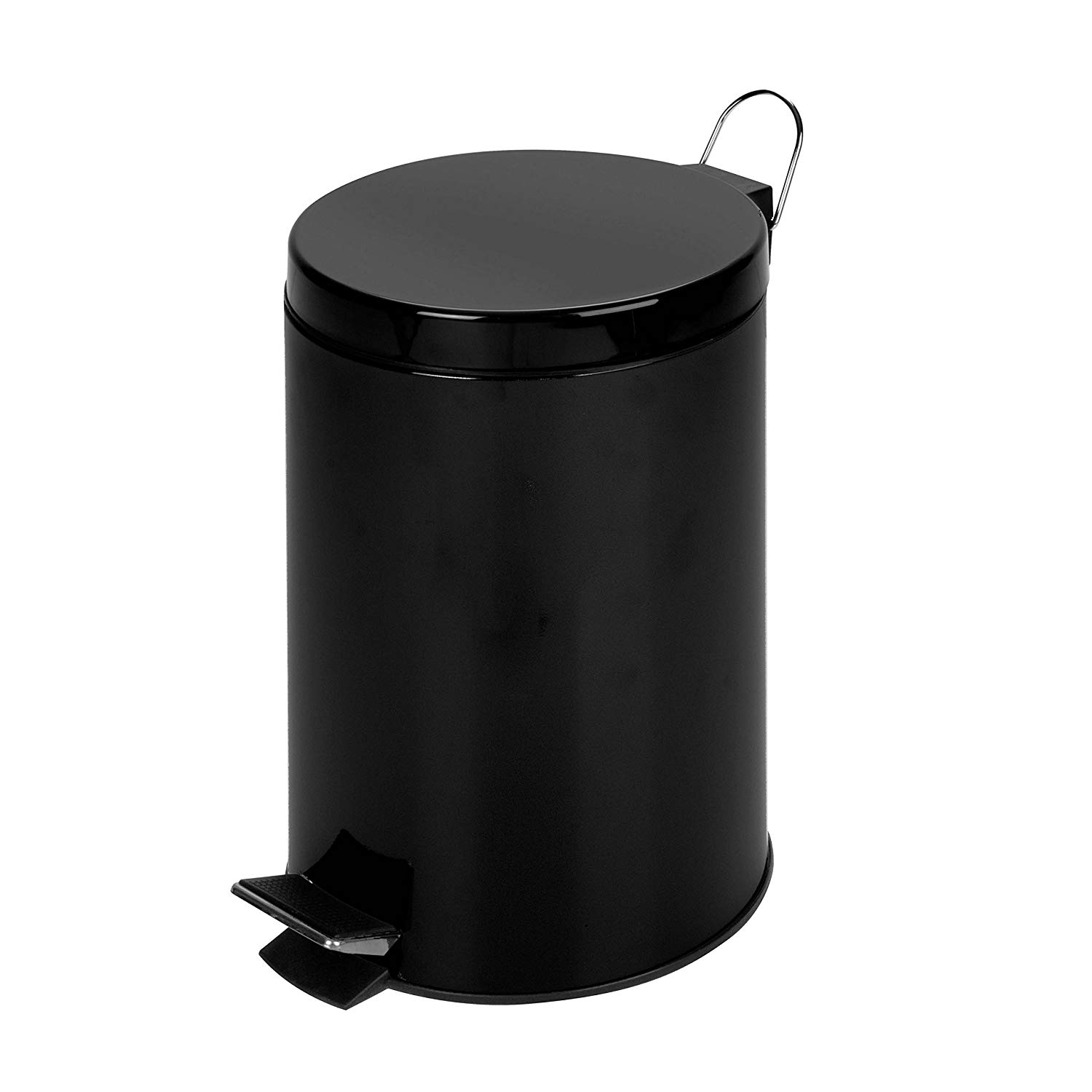 White 3 Gallon Step Waste Can