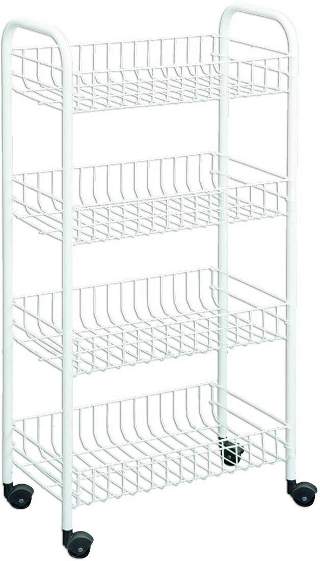 Storables Baker's Rack with Butcher Block top