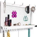 White Curio Jewelry Stand