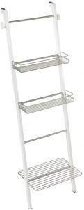 White & Satin Formbu Bath Storage Ladder