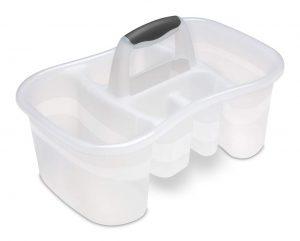 White Bath Caddy