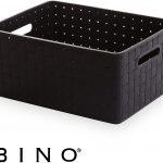 Woven Plastic Storage Basket