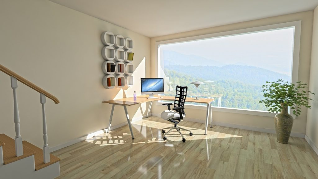Picture windows for natural light