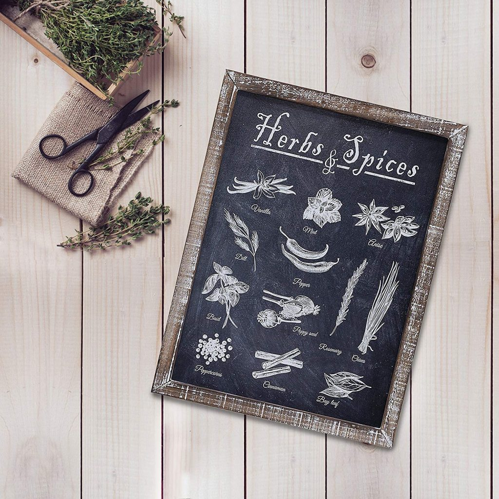blackboard decor