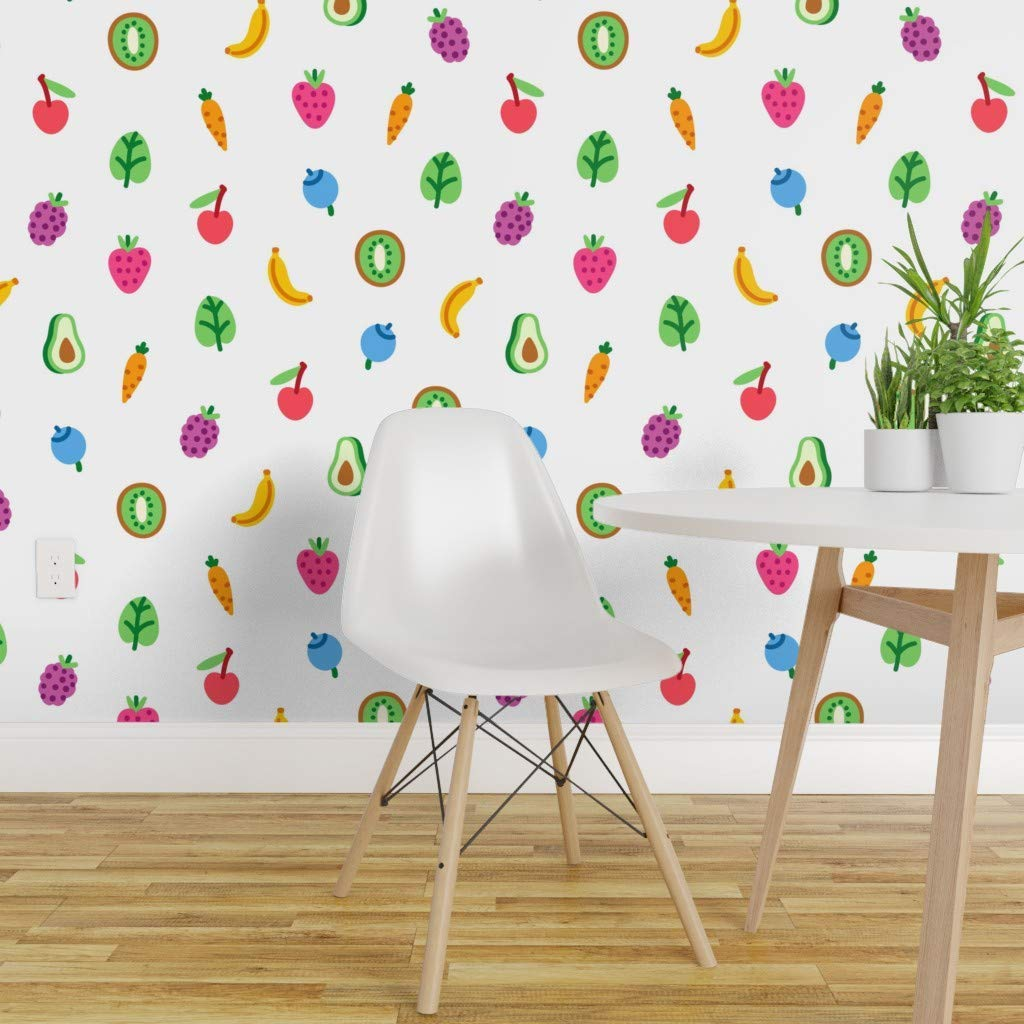 vegetable and fruits kitchen wallpaper