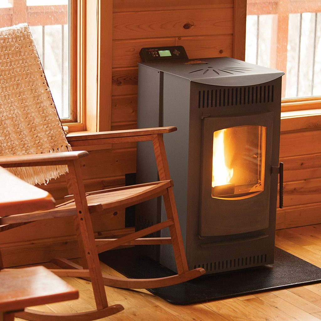 1. The serenity wood pellet stove from castle