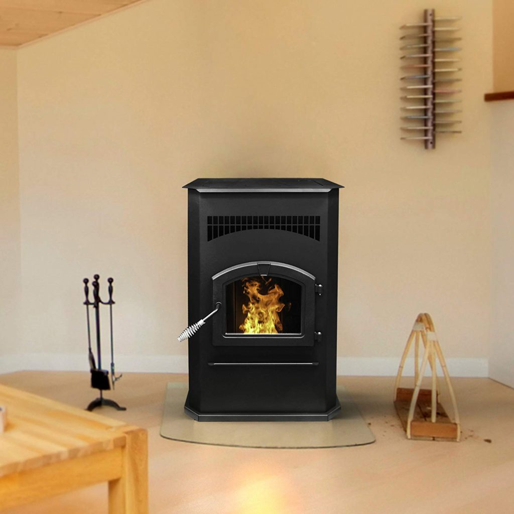 2. The 50,000 BTU Cabinet pellet stove from pleasant hearth