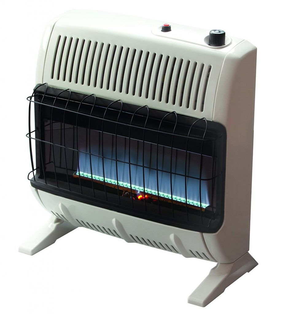 Mr. Heater 30,000 BTU Propane Blue Flame Vent-Free Heater, VF30KBLUELP