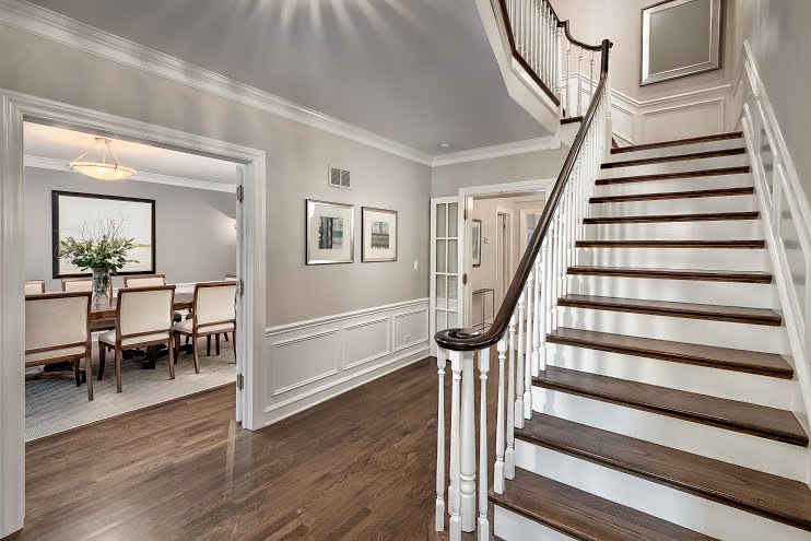 The edge comb gray from Benjamin Moore
