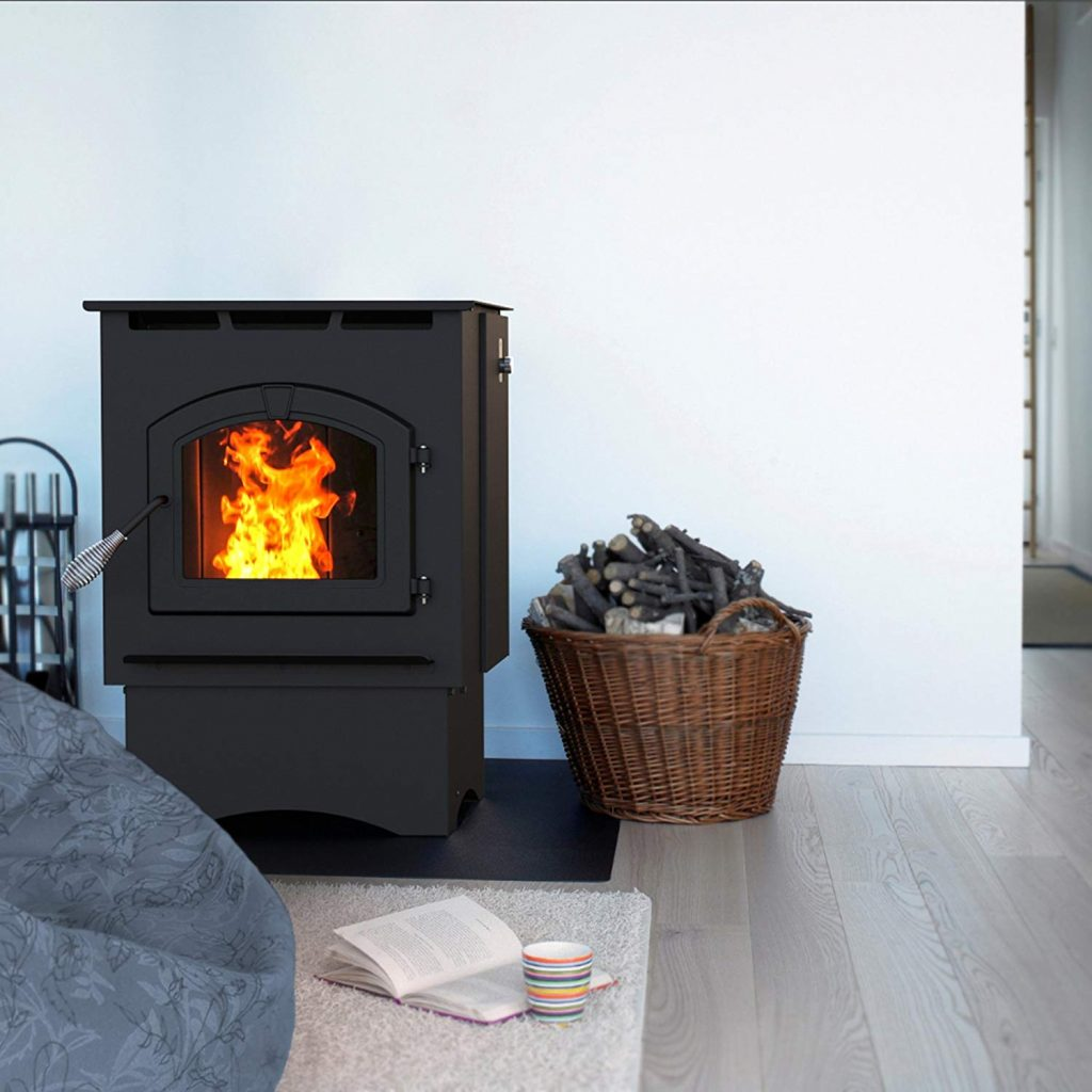 6. The 35,000 BTU pellet stove from pleasant hearth