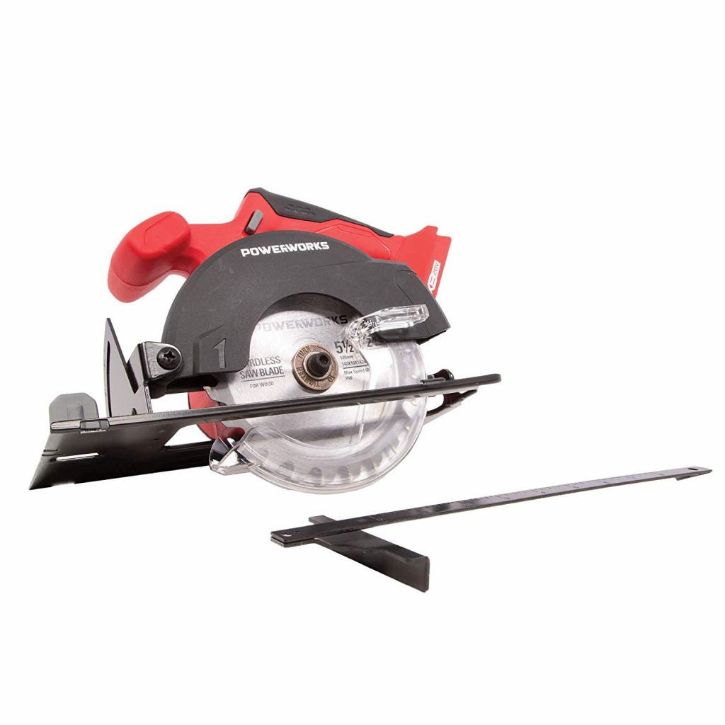 POWERWORKS XB 20V 5.5-Inch Cordless Circular Saw