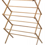 Bamboo Wooden Clothes Drying Rack