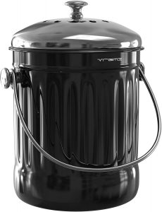 Black Compost Pail