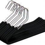 Black Soft Grip Trouser Hangers