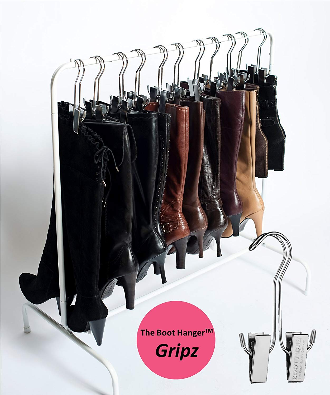 Boot Organizer: The Boot Rack Garment & Boot Rack
